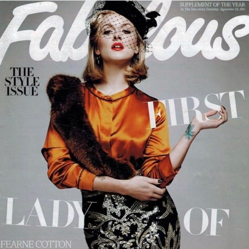 Fearne Cotton - Fabulous, September 10th, 2011
